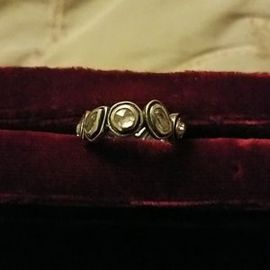 Silpada sterling and crystal ring